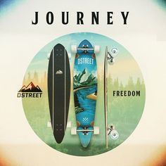 Journey Freedom Pintail - seamless blend of performance and style is integral to the D Street brand and philosophy. Street Brands, Longboarding, Surfboard, Philosophy, Skateboard, Freedom, Journey, Snow, Instagram
