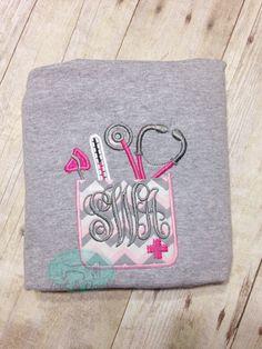 Nurse shirt Dr pocket doctor rn lpn cna tee gift by TootNDoodle