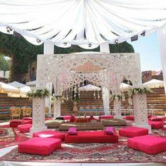 Indian wedding tent #JADEbyMK #indianwedding #wedding