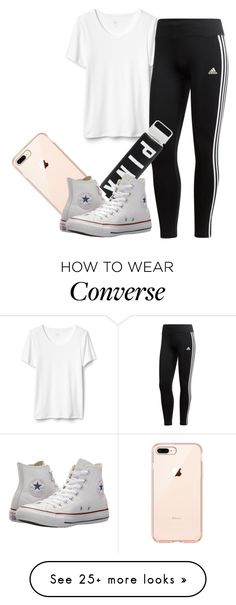 """""""1 of Everything"""" by love123-379 on Polyvore featuring adidas and Converse"""