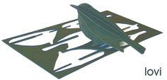 Lovi self assembly bird