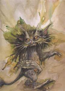 Brian Froud (his work is amazing i find it really interesting)