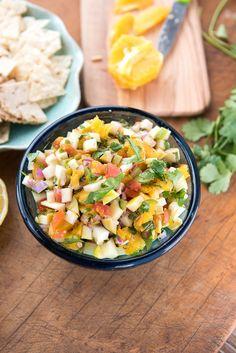 Chayote Orange Salsa recipe -  BoulderLocavore.com
