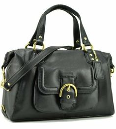 74ad4846de2f Coach Black Leather Large Satchel 25151 New Handbags, Coach Handbags,  Satchel Handbags, Ladies