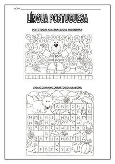 Trabalhando com alfabeto.