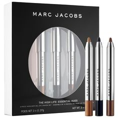 Marc Jacobs Beauty The High Life Eyeliner Set Live the high life with this essential collection of award-winning Highliner Gel Eye Crayon eyeliners. Captur