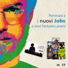 #JOBSilfilm - Tra di voi si nascondono i nuovi Jobs? PARTECIPATE AL CONCORSO per vincere fantastici premi => http://www.nuovijobs.it/