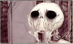 Tim Burton, Nightmare Before Christmas storyboard, 1993