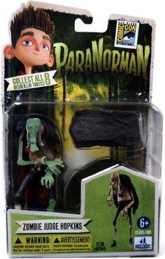 ParaNorman SDCC Comic Con Exclusive 4 Inch Figurine Zombie Judge Hopkins