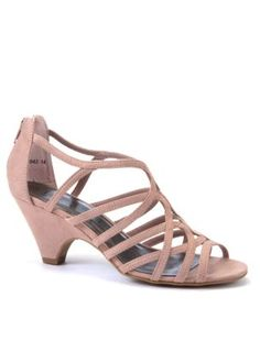 Strappy Low Heel Sandals