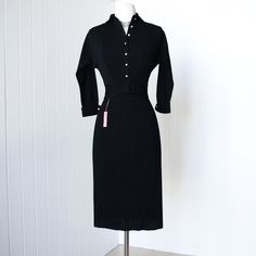 vintage 1950's dress ...never worn w/tags whistle bait by traven7