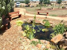 At NatureBuild we specialize in Natural Water features, Ponds, Timber pergolas, decks and bridges, stone and boulder work and landscape construction/design using natural materials. Stone Water Features, Pond Waterfall, Planting Plan, Landscape Services, Exposed Beams, Construction Design, Water Garden, Natural Materials, Landscape Design