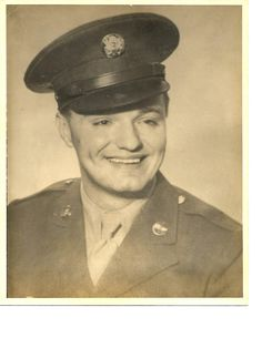 """Roland """"Ed"""" Parsons, TSgt in Air Corps during WWII and POW in Germany"""
