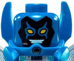 LEGO BLUE BEETLE HEAD