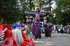 御杖村 四社神社 獅子舞奉納 - 奈良県