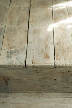 Lime washed floor by Painting & Decorating - early elm flooring in hallway of a Georgian House Painted Floors, Painted Furniture, Castle Stones, Carpet World, Discount Area Rugs, Vintage Interiors, Natural Rug, Wooden Flooring, Diy Flooring