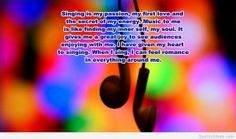 Sharing music quote HD