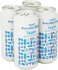 Really chap lager. Ok, so not ACTUALLY Tesco Value Lager. But something cheap enough such that it's not too upsetting when it gets all warm. #2000treeskit #2000treats @2000trees Festival Festival