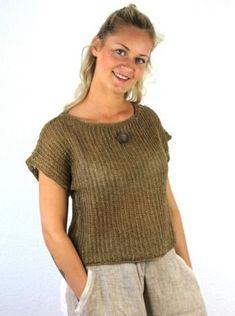 15.10 Kvadrater med signalstriber - Karen Noe Design Knitting Wool, Knit Crochet, Turtle Neck, Sweaters, Cardigans, Pullover, Design, Vests, Crafts