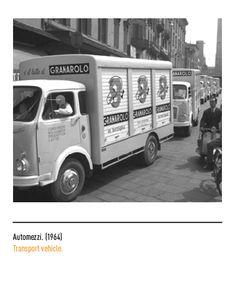 Marchio Granarolo - Automezzi 1964 Transportation, Vehicles, Logo, Museum, Car, Vehicle, Tools