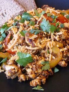 ... tofu scramble... | Healthy Recipes | Pinterest | Tofu Scramble, Tofu