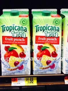 Walmart: Tropicana Twister bebida a sólo $1.43  http://www.cuponesparanosotras.com/2014/06/walmart-tropicana-twister-bebida-solo.html