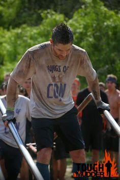 sweetondean: Those Supernatural Boys Are Tough Mudders! CLICK FOR MORE PIX,