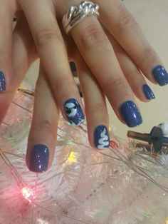 Manicure #Shellac Cuneo www.bienetresnc.com Tema Natalizio