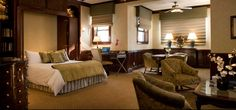 Executive Suite at The Majestic Hotel Chicago...just lovely!