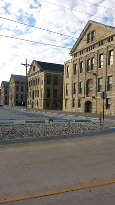 Some of the huge buildings on Arsenal Island, Rock Island, IL #QuadCities.  What awesome structures and what history on the island.  Made for a fun bike tour one warm Sunday.