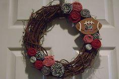 Alabama wreath! roll tide!
