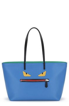 Fendi 'Monster' Leather Tote available at #Nordstrom