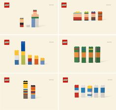 Clever marketing! Can you guess the Lego characters by color alone?