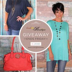 {GIVEAWAY TIME!} This week we are featuring a fabulous Giveaway from Beadsbee Boutique! 3 random winners will receive grab bags valued at $100 (1st), $50 (2nd), or $25 (3rd). Ends this Friday! Enter at http://vryjn.it/beadsbee-pin  The more you enter, the more chances to win! #giveaway #janegiveaway
