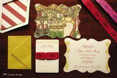 sweet sixteen party carnival theme | Sweet Sixteen Carnival - Zenadia Design