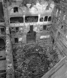 Houses of Parliament bombed - May 11 1941 - http://www.warhistoryonline.com/war-articles/houses-of-parliament-bombed-may-11-1941.html
