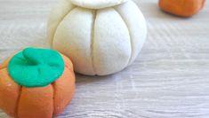 Mini-Kürbisse aus Salzteig // Saltdough Mini-Pumpkin