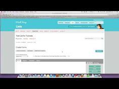 How to Make a Horizontal MailChimp Web Form for WordPress Website #emailmarketing