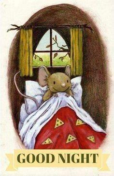 "Layn Marlow illustrations - ""How many sleeps? Art And Illustration, Good Night, Good Morning, Nighty Night, Cute Mouse, Woodland Creatures, Pics Art, Whimsical Art, Cute Art"