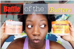 Battle of the Butters: Shea Moisture Curl Enhancing Smoothie VS Cantu Sh...
