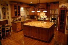 The Granite Gurus: Lapidus granite Kitchen