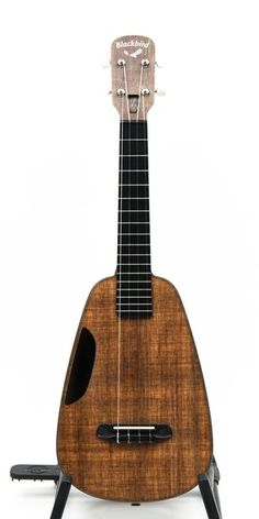 Clara is a revolutionary concert ukulele with the tone of vintage wood and the durability of cutting-edge, eco-friendly construction. Made from Ekoa -a proprietary, first-of-its-kind, renewable, bio-based material that provides warm, 'vintage' sound and feel with the toughness of carbon fiber. Clara's every detail is engineered to generate the acoustic quality of a much larger instrument. From its patented hollow-neck design to its high-tech eco-fabric and resin construction, the Clara is…