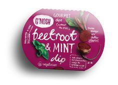 G'nosh - Gourmet dips #packaging #design