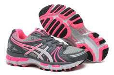 b4a5a8aaf Femme Asics Gel-Kayano 18 Running - Blanc   Rose Shoes Uk