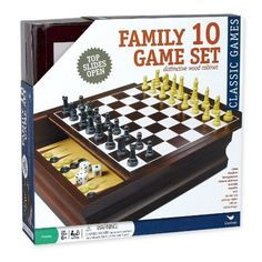 Cardinal Family 10Game Center in Wood Case -- Check this awesome product by going to the link at the image.