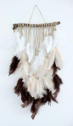 plumas decoracion