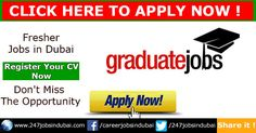 Fresher Jobs in Dubai Vacancies and Opportunities. As a fresher Student you might be recently graduated or Recently passed out student from institute or a university. After graduation you'll be called fresher in that particular field.