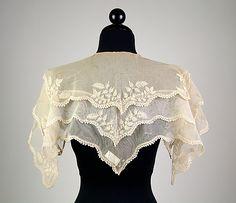 PelerineDate: ca. 1835 Culture: American Medium: Cotton