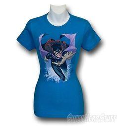 Batgirl New 52 #1 Jr Womens T-Shirt
