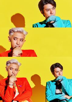 "Sehun & Chanyeol - SC ""What a life"" Teaser Baekhyun Chanyeol, Park Chanyeol, Kim Min Seok, Xiu Min, Got7 Jackson, Jackson Wang, Luhan And Kris, Kris Wu, Exo Album"